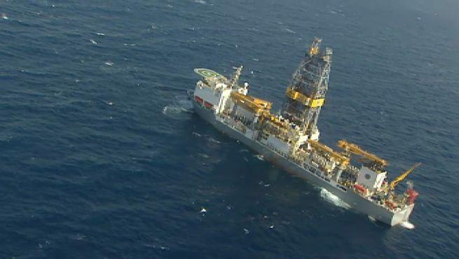 Las perforaciones de Repsol para buscar petróleo en Canarias han alcanzado los 1.475 metros de profundidad