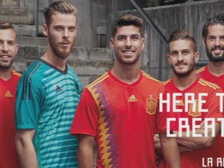 La nueva camiseta de la Selección española de fútbol ...