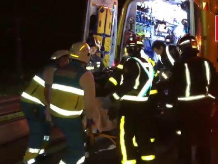 Herida grave una mujer tras la colisi n frontal de dos for Agencia turismo madrid